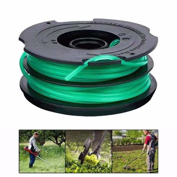 best selling DF-080 Auto Feed String Trim.mer Spool Line Replacement For Black & Dec.ker for Lawn Mower Garden Tools Part Brushcutter
