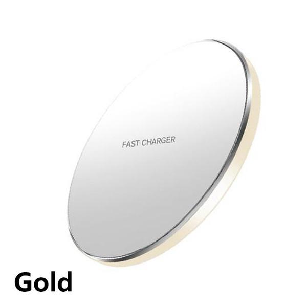 Cargador inalámbrico de oro