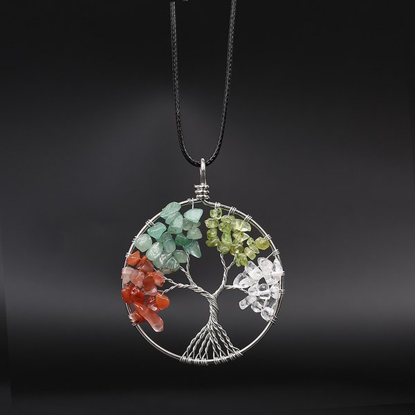 Tree of Life Pendant Necklace 18