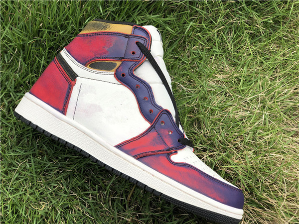 sale retailer 4015b d7371 2019 New 1 I HIGH rub red blue MEN basketball shoes 1s sports sneakers  outdoor trainers TOP quality size 4-12