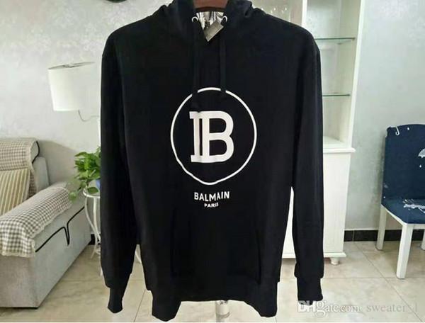 best selling 2019 Brand Men's Hoodie Luxury Designer Hoodie High Quality Loose Fit Men's and Women's Fashion Hip Hop Hoodie Sweatshirt Size S--XL