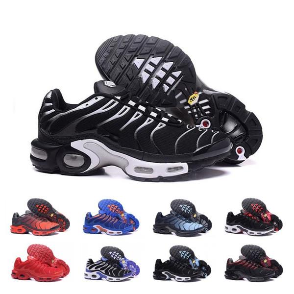 Big Sale TN Chaussure De plus Chaussures de course pour hommes Outdoor Triple Noir Hommes Blanc Formateurs Randonnée Sports Chaussures de sport