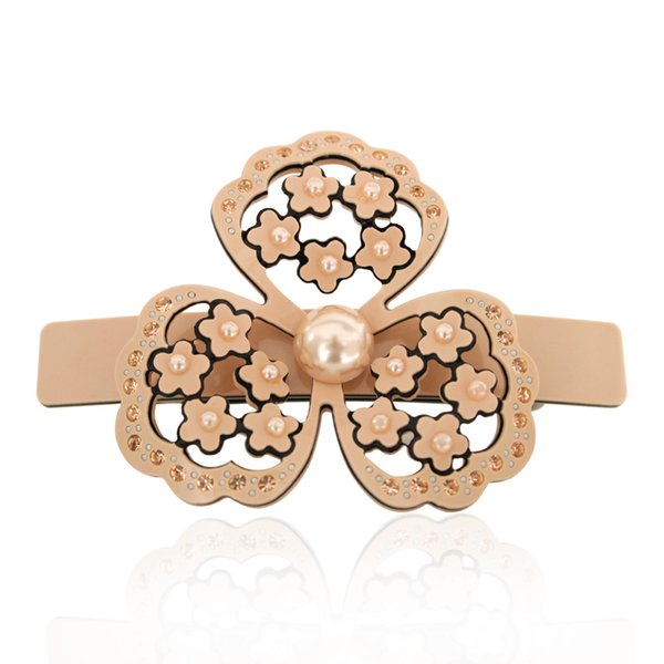 Hair pin Hair Clips Flower Hair Accessories Jewelry Ornament for Women Girls Rhinestone Accessory Wedding Bridal Party (2pcs)