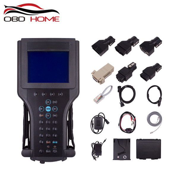 Special inspection tool For Gm Tech Tech2 Diagnostic Scanner For GM/for SAAB/for ISUZU add 32 MB Card with black Plastic box