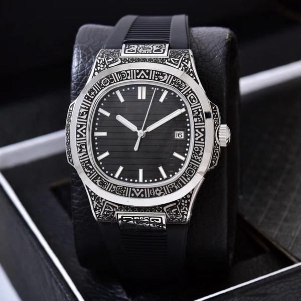 wholesale New Fashion Meccanico di lusso Mens Watch Nautilus serie movimento automatico orologio mens designer orologi