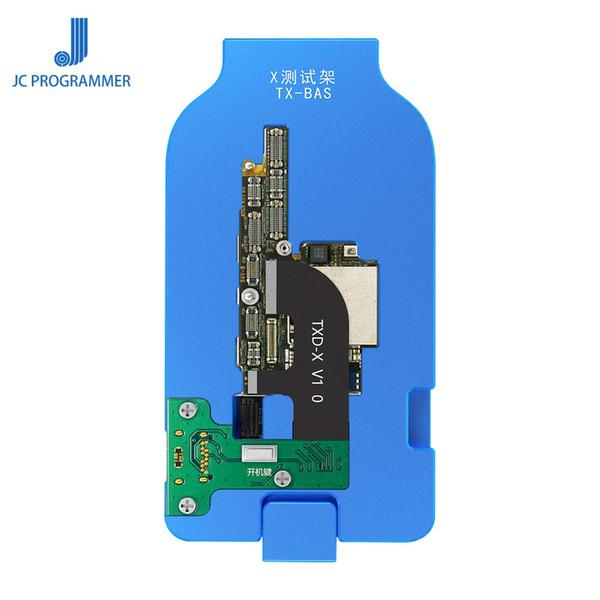JC Anakart Katmanlı Test Fikstürü Yok Pil Yok Kuyruk Fiş Bir Düğme Boot Hızlı Fırça iphone X XS XSMAX Anakart Tamir
