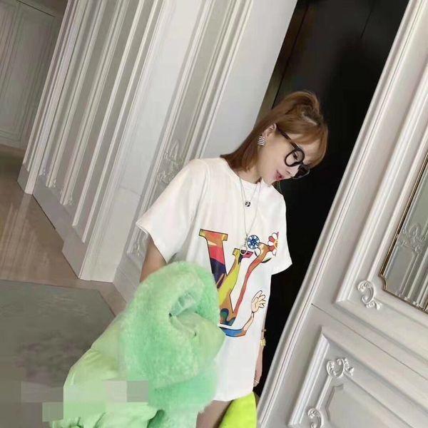 Womens T-shirt Moda maglietta casuale Formato un formato comodo caldo WSJ011 # 112610 ijessy03