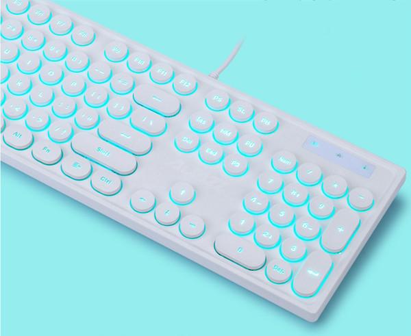 klavye (fildişi + kablolu)