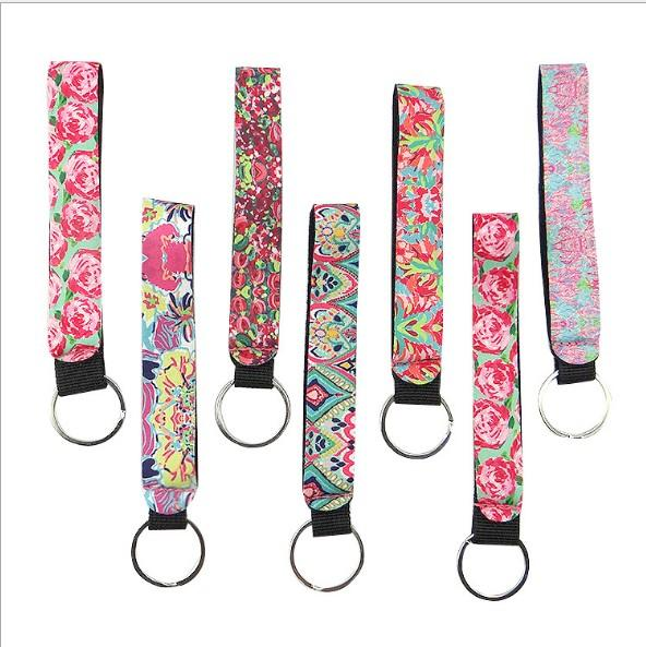 Fancy&Fantasy New Strip Keyring Key Rings For Women Bag Charms Short and Long Ribbon For Phone Case Wallet Keychain Key Chain