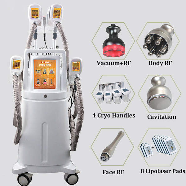 2019 Cryo Lipo Sculpture Machine Smart Laser Lipo Cryolipolysis Treatment  For Cellulite On Thighs Buttock Fat Cell Removal Slimming Machines For Sale