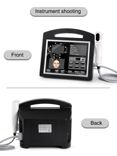 Miglior efficace 2019 Ultrasuono portatile ad ultrasuoni portatile originale 3d 4d hifu dimagrante e macchina per la cura della pelle
