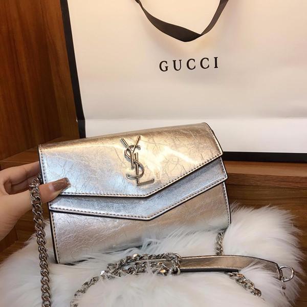 Kadın omuz çantası 19 marka Avrupa ve Amerika Messenger çanta popüler bayanlar S omuz çantası 05612111