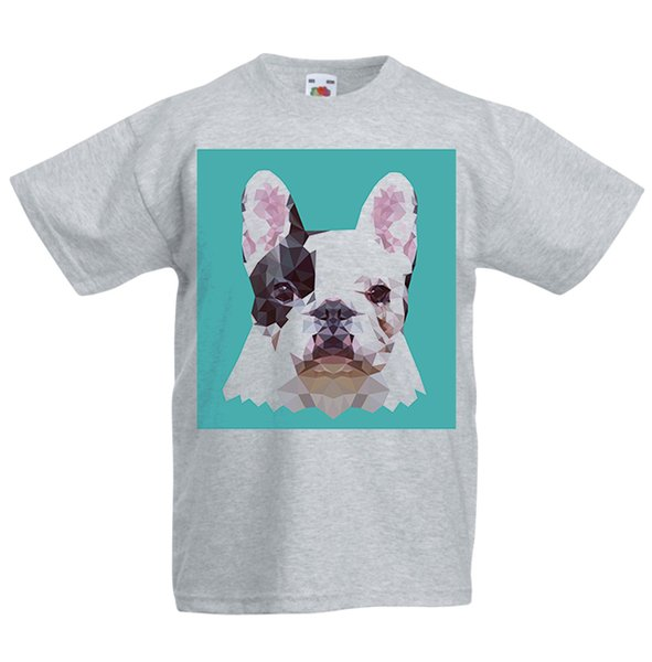 French Bulldog Kid/'s T-Shirt Children Boys Girls Unisex Top Dog