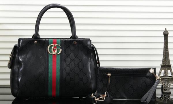 19SS leather shoulder bag, gold metal letter spring lock handbag, adjustable shoulder strap messenger bag, with zipper free post