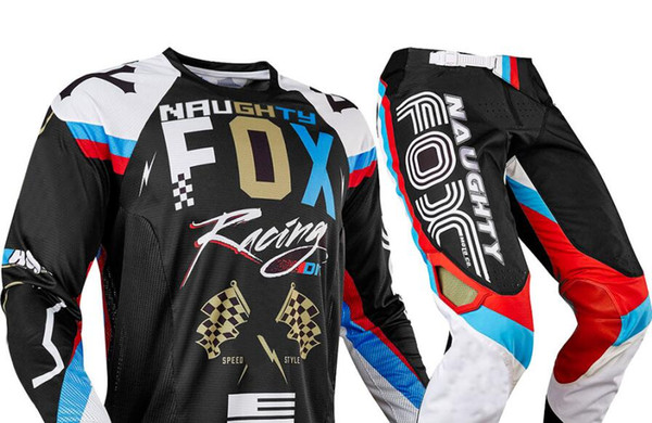 Free Shipping MX 360 Rohr Jersey & Pant Combo Racing Motocross Gear Set ATV Dirt Bike Offroad White Suit 2017000