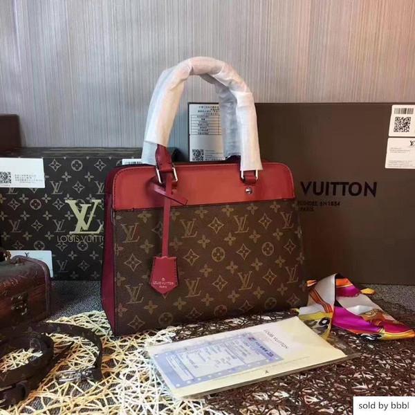 2019 M51246 VENDA QUENTE MULHERES VANEAU MM Rose Red BROWN sacos bolsa Hobo BOLSAS Top Alças BOSTON Corpo Cruz MESSENGER Shoulder