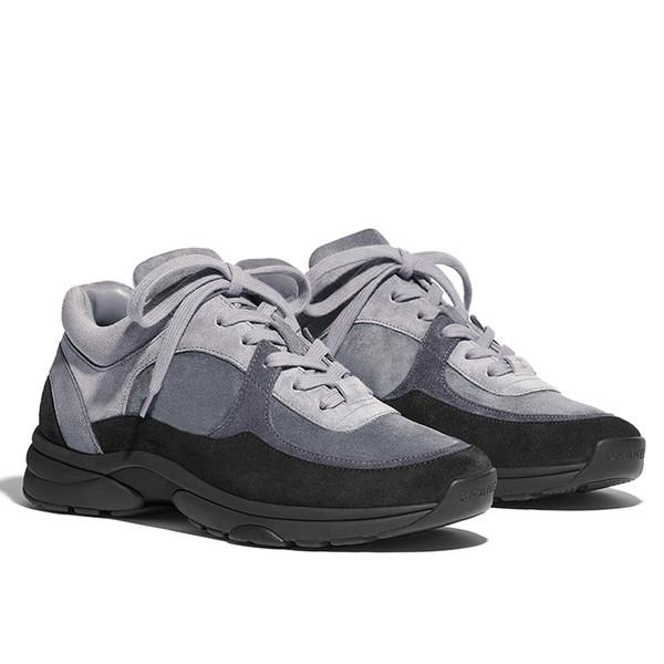yang5795365 / 2019 zapatillas de lujo de gamuza de nylon de piel de becerro G34360 zapatos de pista transparente transparente zapatillas de deporte de PVC mujer pa