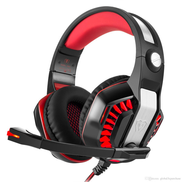 Injoe Bexcellent GM-2 Headset Gaming Headphones Glowing Noise Reduction Subwoofer With Microphone Headphones Game Remote Control Microphone