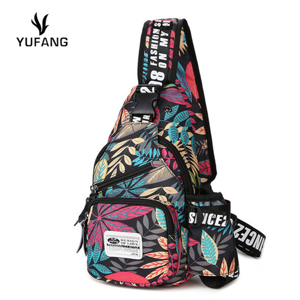 YUFANG new men chest bag fashion japan and korean style chest back pack high quality oxford daypack brand messenger shoulder