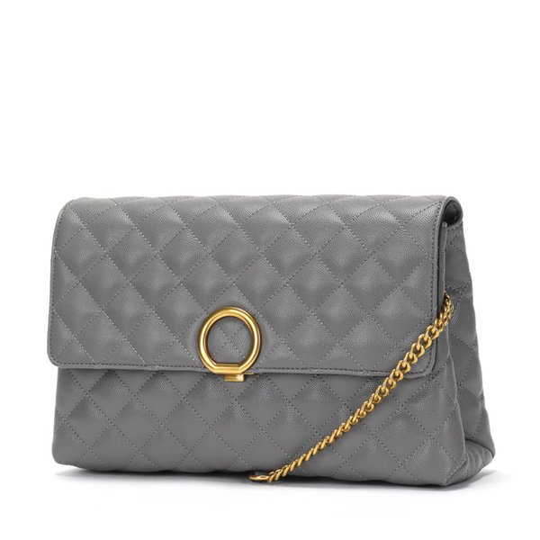 Luxury Handbags Women Bags Designer Chain Messenger Bags Vintage Small Crossbody gray sexy Party Day Clutches Knitting