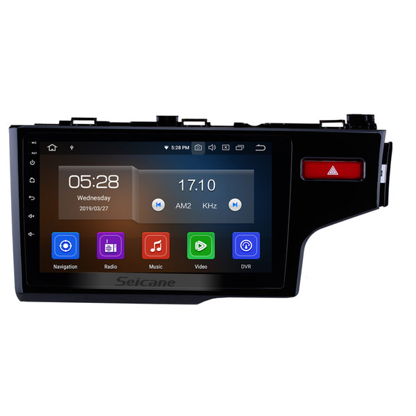 9 Inch Android 9.0 Touchscreen Car Multimedia Player For 2014-2016 Honda Fit with Bluetooth GPS Navigation support Remote Control car dvd