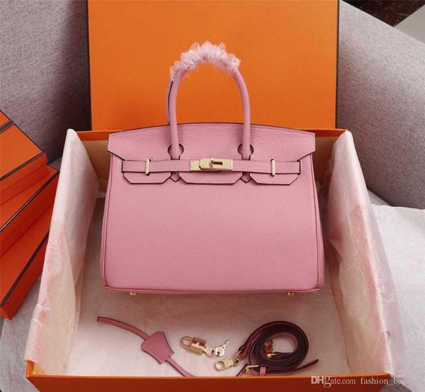 top popular Luxury Designer Woman Handbag Classic Soft Cowhide Flap Tote Bag Genuine Leather Strap Shoulder Bag High Quality Cross body Bag Purse Clutch 2019
