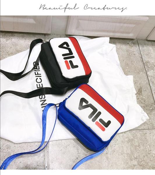 new shoulder &#70I&#76A bag ladies Messenger brand bag Cosmetic bag pocket color packet 3 color