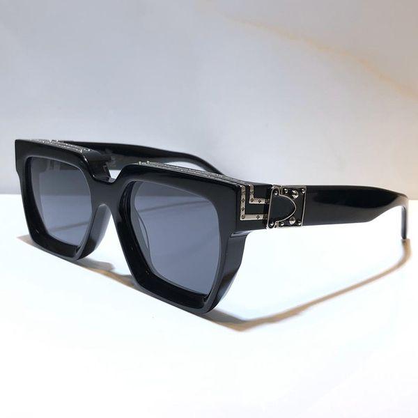 noir verres gris argent