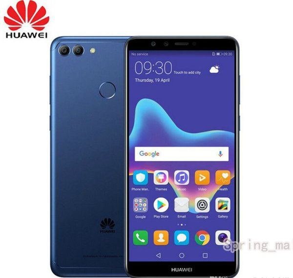 """Original HuaWei Enjoy 8 Plus Y9 2018 4G LTE Mobile Phone Octa Core Android 8.0 5.93"""" IPS 2160X1440 4GB RAM 128GB ROM Face ID"""