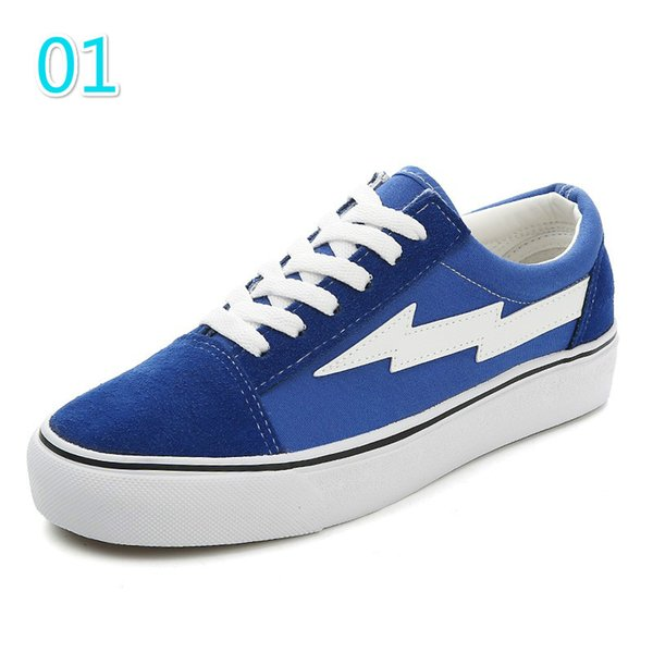 2019 fashion designer Donna Mens Revenge X Storm Old Skool Scarpe da ginnastica di lusso da donna Mens Designer Shoes 3A 15