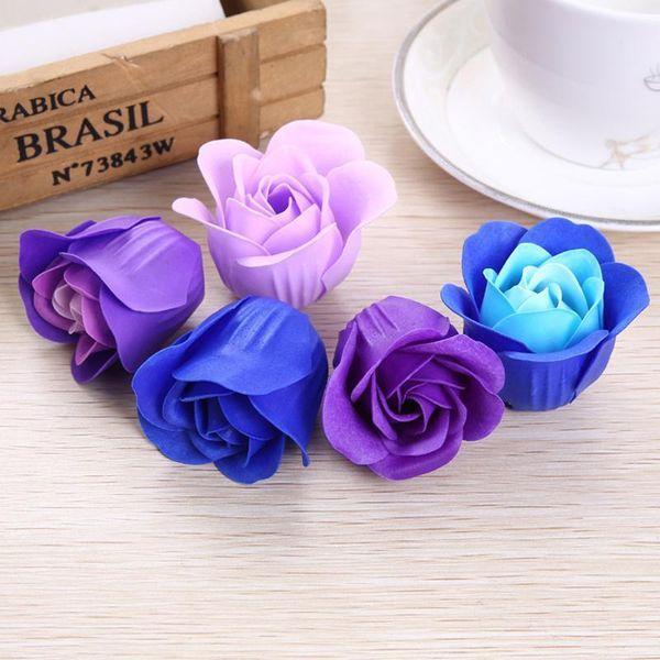 New Fleurs artificielles Savon de fleurs le jour de la Saint-Valentin Roses cadeaux Cadeaux de mariage pour les clients Graduation cadeaux Fournitures de mariage