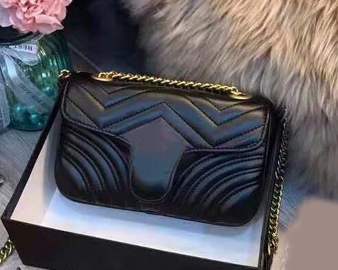 2019 neue europäische und amerikanische Mode vielseitig Diamantgitter Kette Tasche schräge Schulter Herzklappe kleine quadratische Tasche