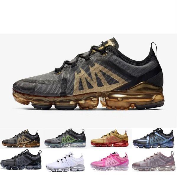 Compre Nike Vapormax Air Max 2019 Nuevo 2019 Zapatos Para Correr TN Plus Woman Metal Shock Running Shoes Run Utility Moda Para Hombre Damas Para