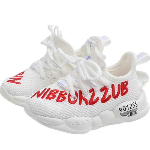 Nuevos zapatos para niños zapatos para bebés zapatos para niños pequeños chaussures enfants zapatillas para bebés zapatillas para niños pequeños ocasionales entrenadores para niñas entrenadores al por menor A7638