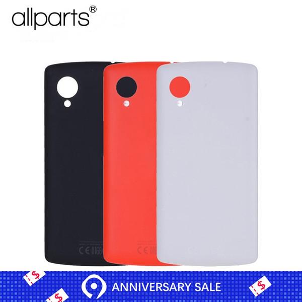Original With NFC Antenna Back Housing For LG Google Nexus 5 D820 D821 Battery Cover Door Buzzer Vibrator Flex
