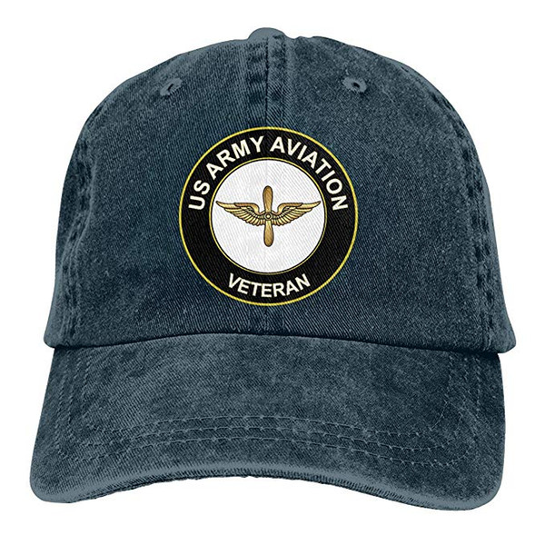 2019 New Cheap Baseball Caps US Army Veteran Aviation Mens Cotton Adjustable Washed Twill Baseball Cap Hat