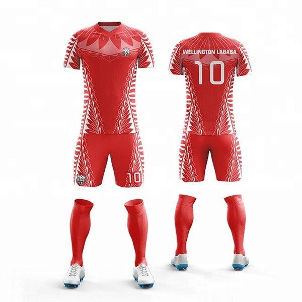 Fertigen Sie jedes Logo kurz Kinder kurzhülsenfußballjerseyjugend v halsfußballjerseyjungenfußballuniformen Futbol fußballjersey