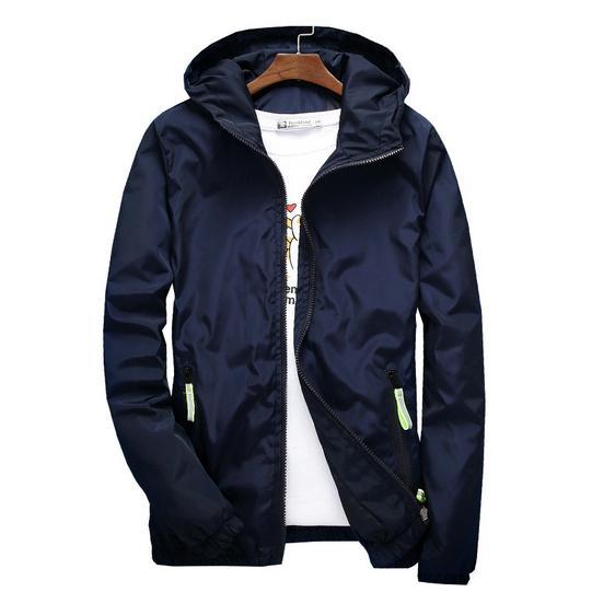 Commercio all'ingrosso 22 giacche colore 2019 New Fashion Brand Tide Mens Jacket Polo Giacche di lusso maschile Casual Sport Outdoor Windbreak per uomo S-5XL