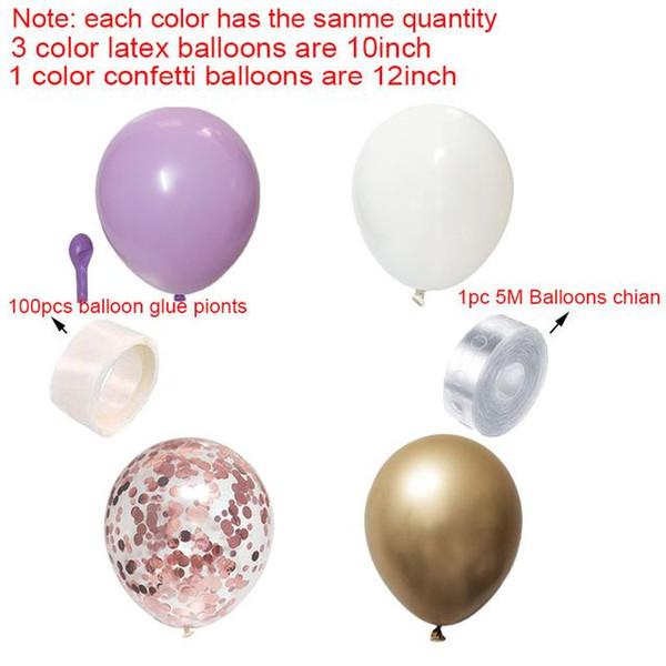 фиолетовый розовое золото