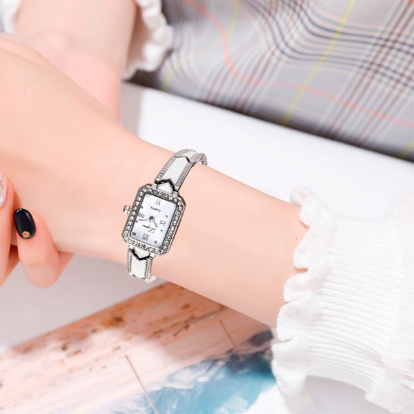 Simple Casual Fashion Square Dial Small And Exquisite Female Bracelet Watch Women Watches Bracelet Watch Ladied #4a22
