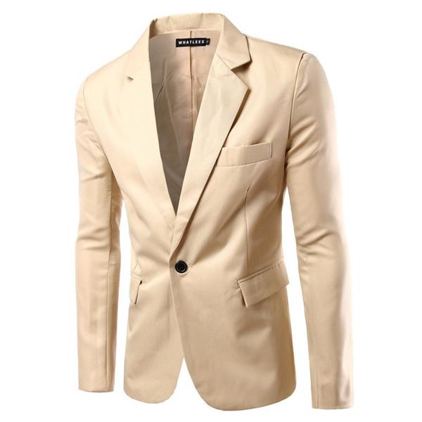 Men's Slim Suit Jackets New fashion Business casual Dress Suits Jackets one Button Suits & Blazer Formal Wear Coats dsy008