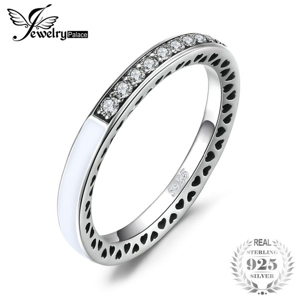 Jewelrypalace 925 Sterling Silber Ringe Glitter Zirkonia Kanal Set Ring Geschenke Für Sie Jubiläum Modeschmuck