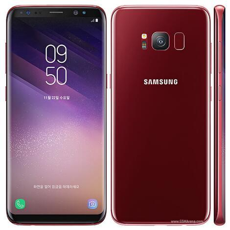original samsung galaxy S8/S8 plus Octa Core 4GB RAM 64GB ROM Iris scan Face Recognition Fingerprint 12.0MP 4G LTE refurbished phone