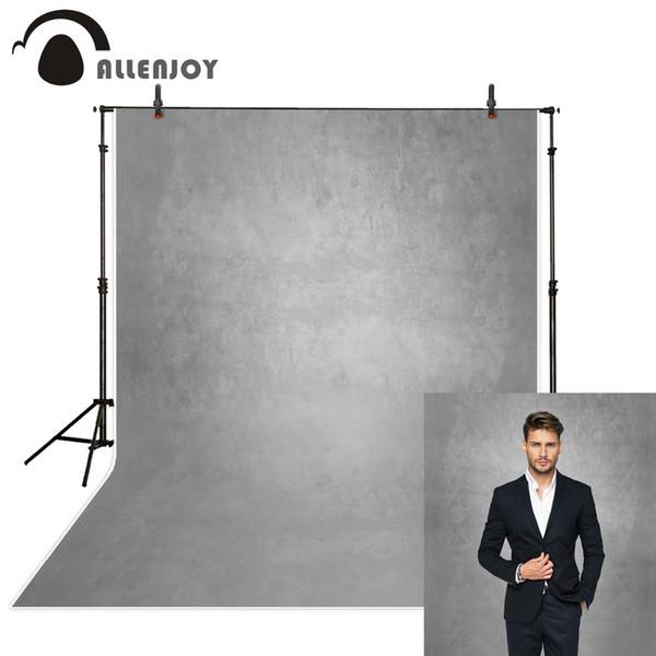 Allenjoy gris color puro viejo maestro fotografía telones de fondo resumen impresión en computadora retrato personalizado estudio fotográfico de fondo