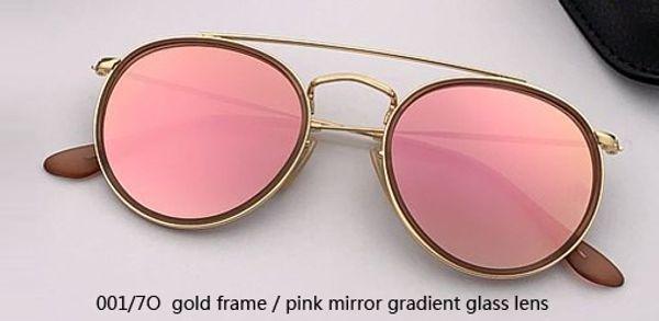 001/7O gold - pink mirror gradient
