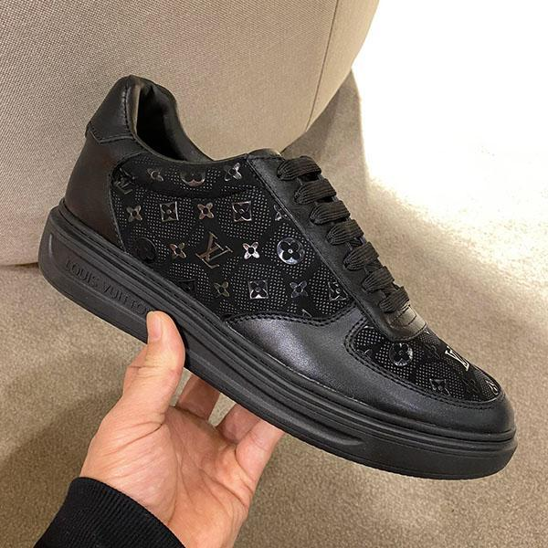 Men's basketball shoes fashion Speed runner Luxury Low help Leisure shoes Canvas leather Vacation trainers shoes for man high quality