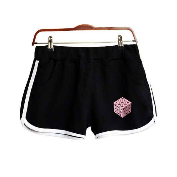 BLACKPINK Square Up Womens Shorts Candy Farben Sommer Surfen Kurze Strand Board Shorts Weibliche Athletic Elastic Sea Shorts