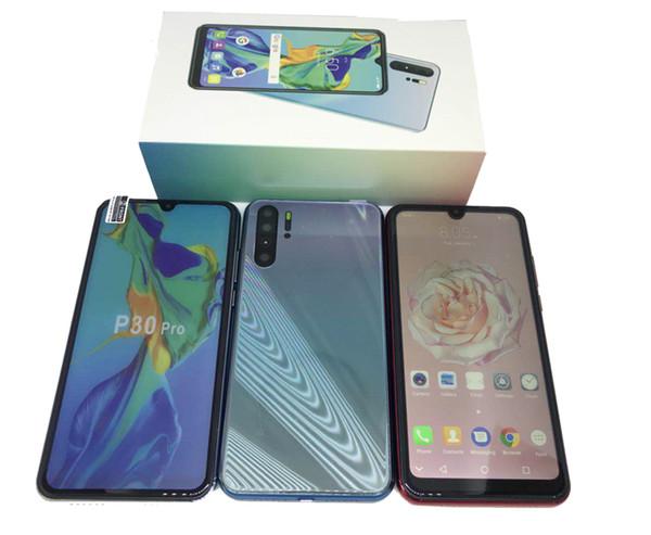 6.26inch Goophone HDC P30 Pro 2GB Ram 16GB ROM Quad Core MT6580P Cellphone Dual sim Unlocked smartphone 2019 New Arrival