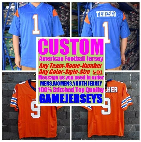 top popular Custom american football jerseys college cheap authentic vapor untouchable sports jersey stitched mens womens youth kids 4xl 5xl 6xl 7xl 8xl 2019