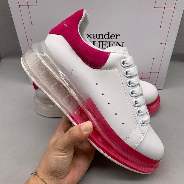 Neue High-End hochwertige Marken Damen weiße Schuhe Qualitätsleder mit flacher Boden weißen Schuhe Freizeitschuh 35-41 Code freien Verschiffen qy Frauen